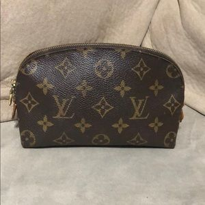 Louis Vuitton makeup pouch
